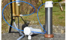 Die Pumpe kann zusätzlich noch um einen Vorfilter ergänzt werden.