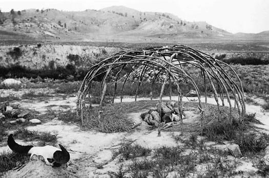 Indianische Schwitzhütte