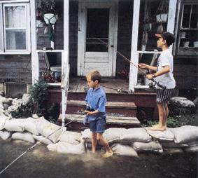 Aufgrund des durch Elektrosmog gestörten Wasserkreislaufs häufen sich Überschwemmungen.