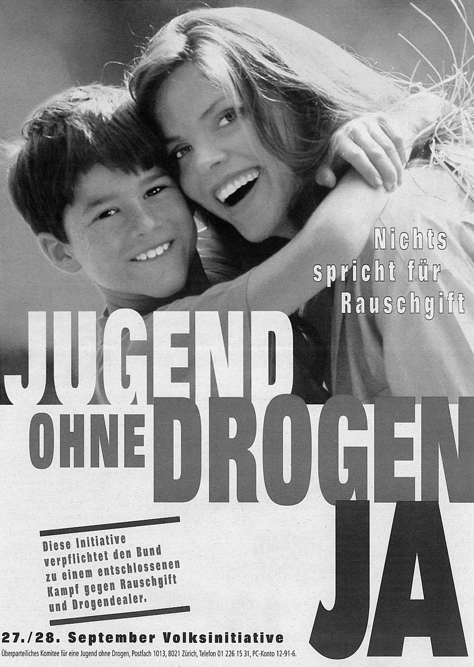 Jugend ohne Drogen