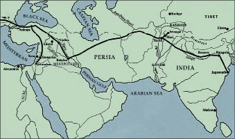 Jesus' Weg nach Damaskus