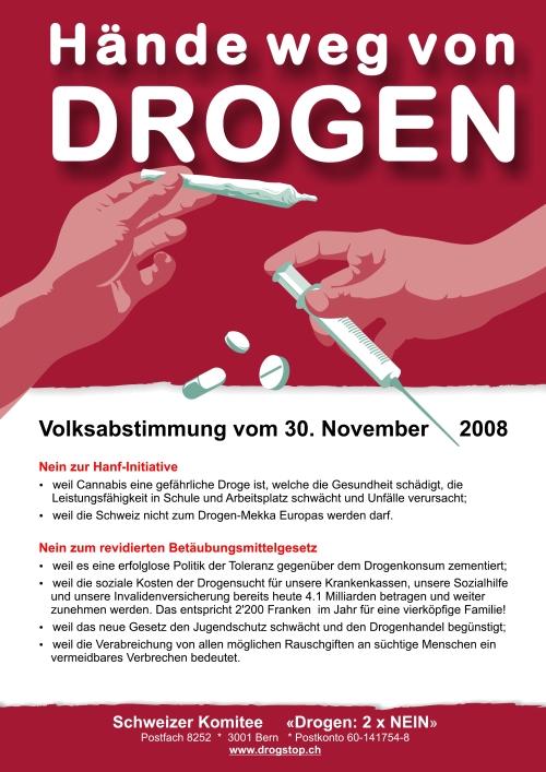 Nein zu Drogen