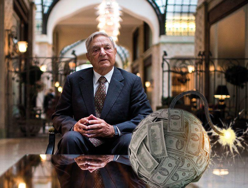 Der Multimilliardär George Soros ließ schon so manche Finanzbombe hochgehen.